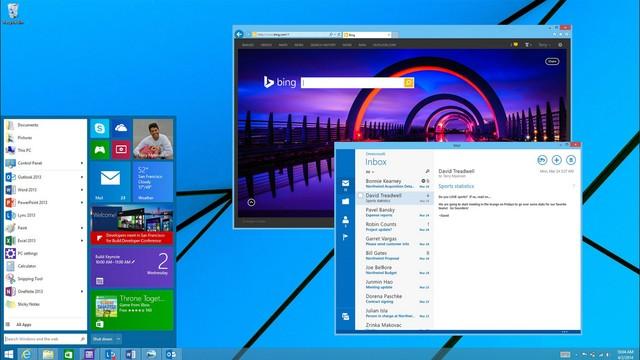 Seperti Inilah Kecanggihan Windows 9, Lebih Baik atau Lebih Buruk?