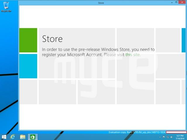 Inilah 2 Tampilan Windows 9 (Threshold) yang Bocor ke Publik