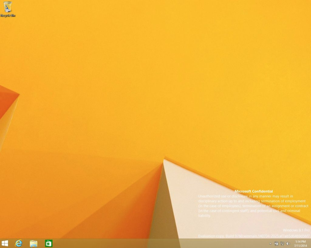 Inilah Screenshot Windows 9 (Threshold) yang Bocor ke Publik