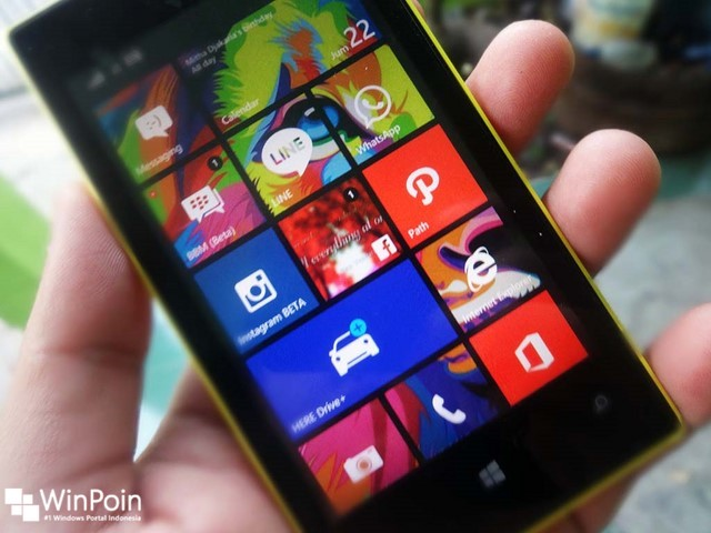 Cara Keluar dari  Apps Corner Windows Phone 8.1