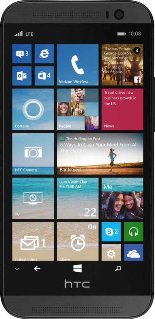 Apakah Ini Tampilan dari HTC One versi Windows Phone?