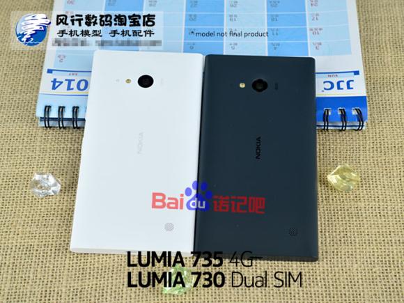 Inilah Perwujudan Nokia Lumia 730 dan Lumia 735