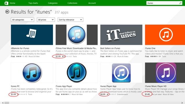 Microsoft Akhirnya Mengakui Kalau Windows Store Masih Penuh dengan Aplikasi Scam