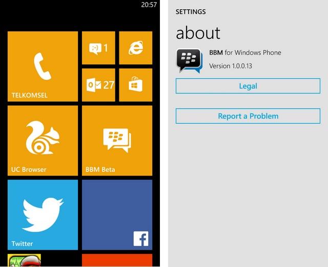 Yes..BBM Sudah Tersedia untuk Semua Pengguna Windows Phone!