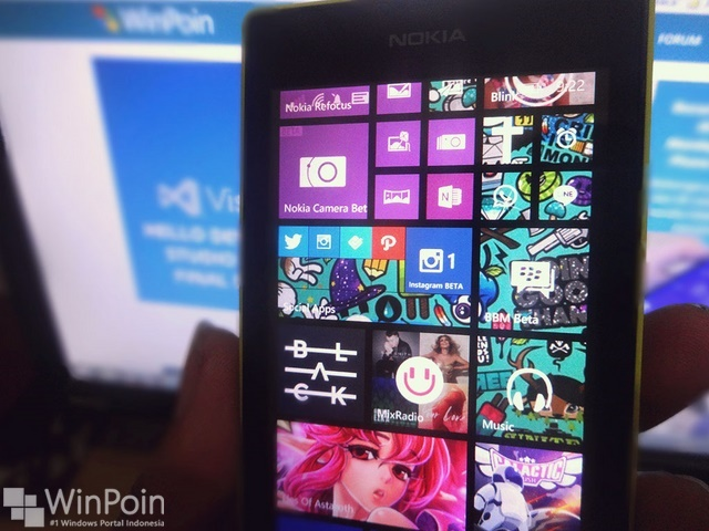 Cara Membuat Live Folder di Windows Phone 8.1 Update 1