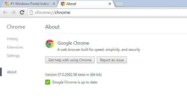 Yes..Google Chrome 64-bit untuk Windows Sudah Dirilis!