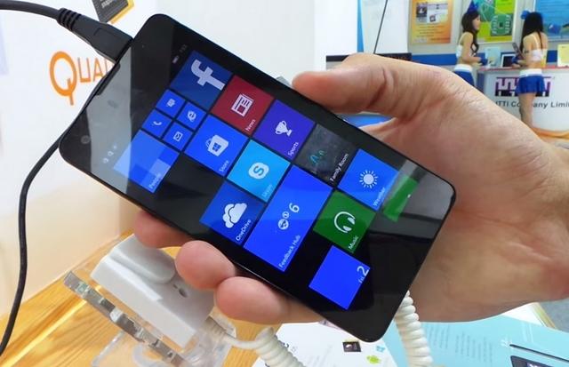 Dengan Harga 1 Jutaan Saja, Windows Phone 8.1 Ini Lebih Tipis dari iPhone