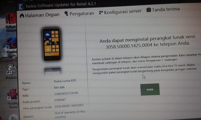 Update Cyan untuk Lumia 620 Indonesia Sudah Dirilis via NSU