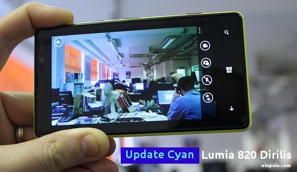 Update Cyan untuk Lumia 820 Indonesia Sudah Dirilis via NSU