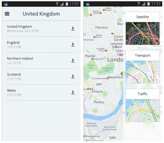 Nokia HERE Kini Hadir Juga di Android