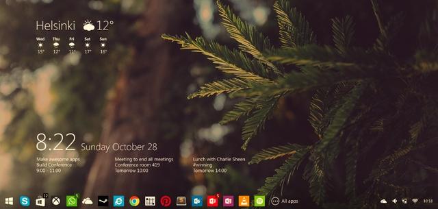Windows 9 Preview Akan Diupdate Minimal 2x Per Bulan dengan Build Baru