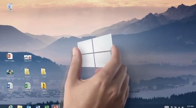 Wow..Build Windows 9 Preview Bisa Diugrade Hanya dengan Pencet Tombol Saja!
