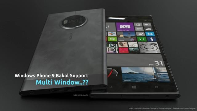 Wow..Kamu Bisa Membuka Beberapa Aplikasi Sekaligus di Windows Phone 9!
