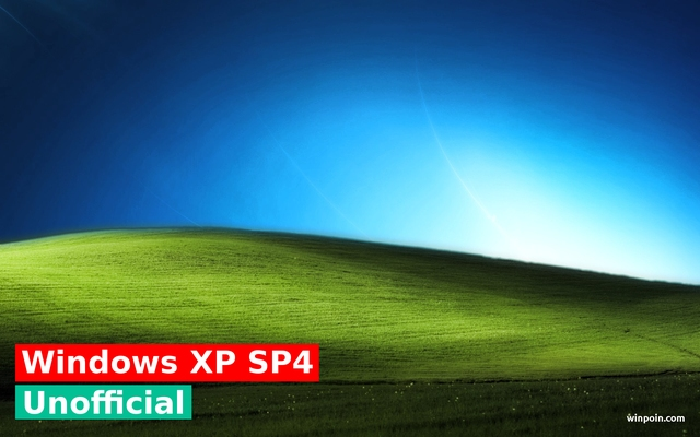 Hot: Windows XP Service Pack 4 Unofficial Akan Dirilis!