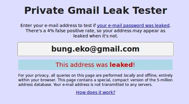 4 Cara Mudah Melihat Apakah Email Kita Pernah Dibobol Hacker