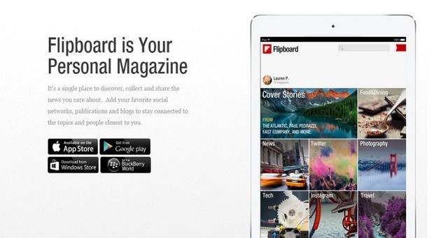 Aplikasi Flipboard Hadir di Windows Phone