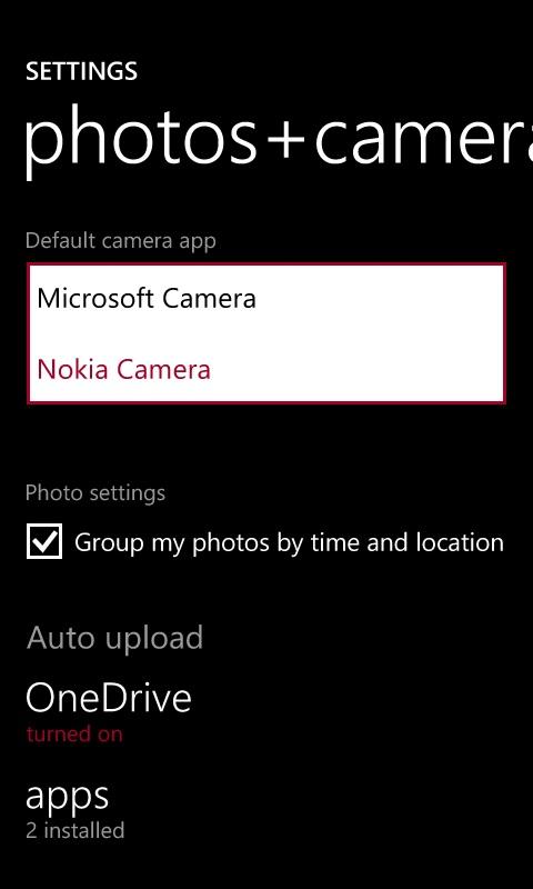 Nokia Camera