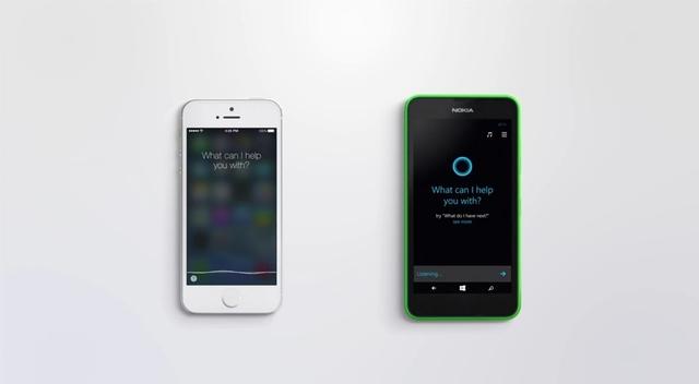 Apple Siri Kembali Dipermalukan Cortana dengan Video Ini