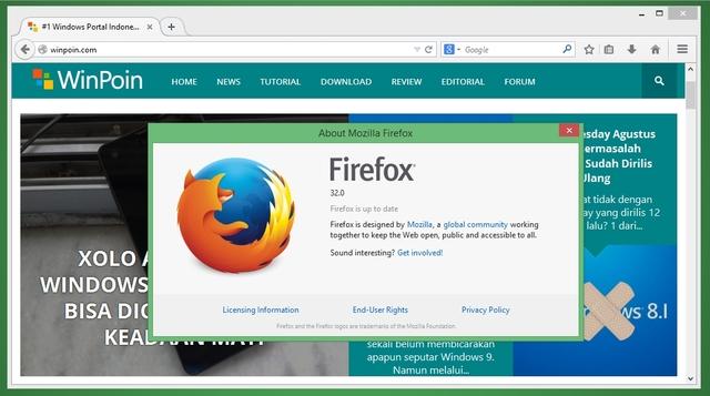 Firefox 32 Sudah Dirilis dengan HTTP Cache Baru, Performa Makin Joss!