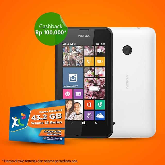 Lumia 530 Sudah Dijual di Indonesia dengan Harga 1.4 Jutaan!