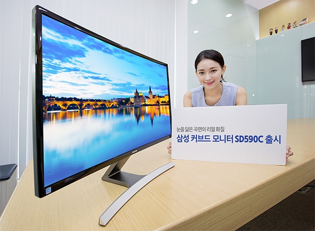 Dengan 5 Jutaan Saja Kamu Bisa Mendapatkan Monitor Cekung Samsung Berukuran 27 Inchi