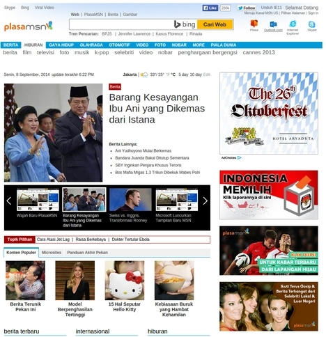 Wow..Tampilan Website MSN Dirombak Total