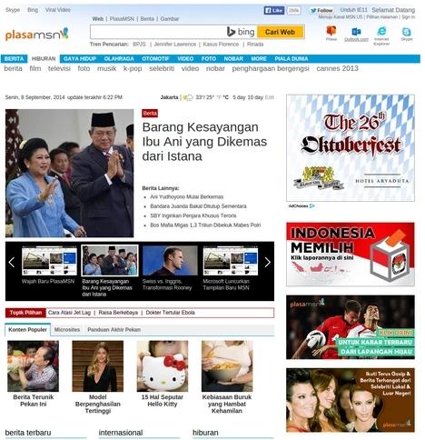 Wow..Tampilan Website MSN Dirombak Total