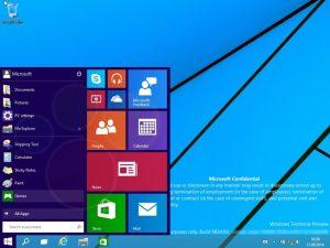 Seperti Inilah Start Menu di Windows 9 (Video)