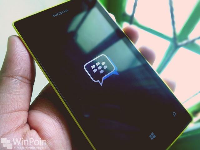 Update untuk BBM Beta Windows Phone, Tidak Ada Fitur Baru