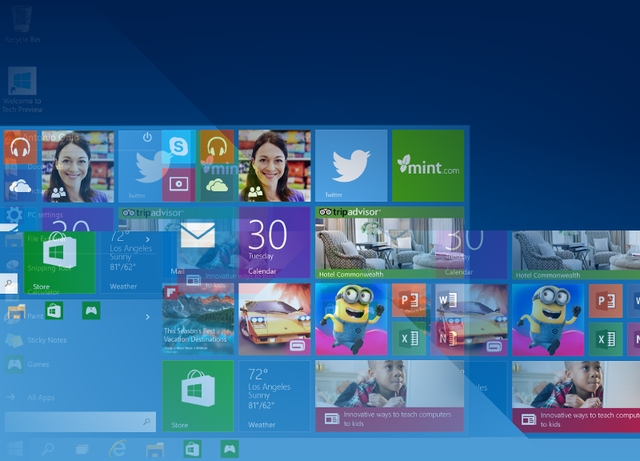 Windows 10 Technical Preview Akan Berakhir 15 April 2015