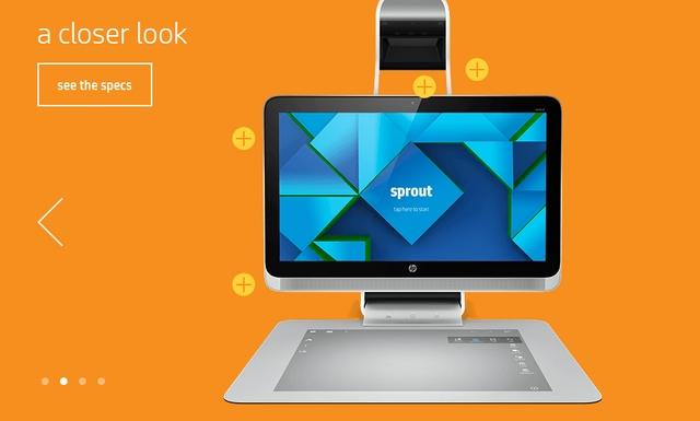 HP Sprout: Seperti Inilah Kecanggihan PC Desktop Masa Depan (Video)