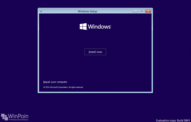 Cara Install Windows 10 Preview Dual Boot dengan Windows 7 / 8 / 8.1