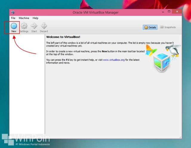 Cara menginstall Windows 10 menggunakan VirtualBox