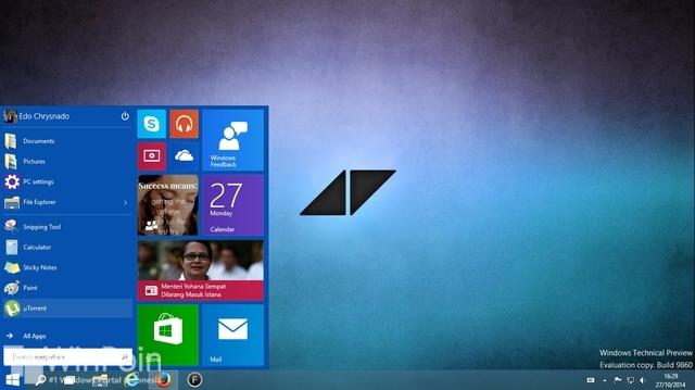 Cara Mengembalikan Start Screen di Windows 10