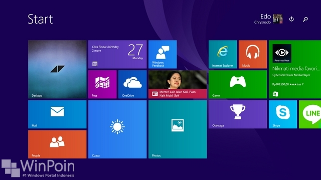 Cara Mengembalikan Start Screen di Windows 10