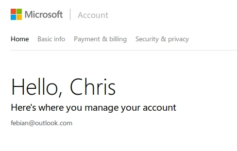 Tampilan Microsoft Account Kini Dibuat Simple Seperti Google Account