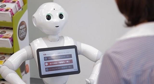 Nestle Akan Menggunakan Robot Humanoid Sebagai Sales Produk Mereka