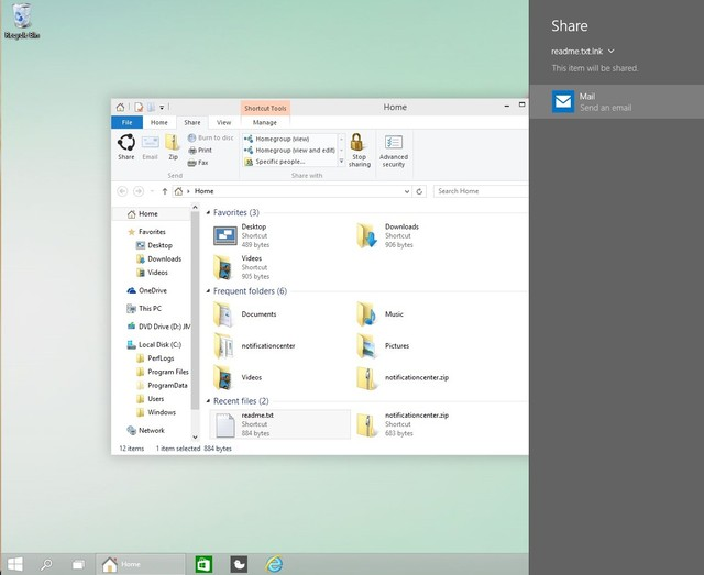 Tombol Share Hadir di File Explorer Windows 10