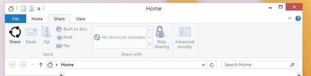 Tombol Share Hadir di File Explorer Windows 10