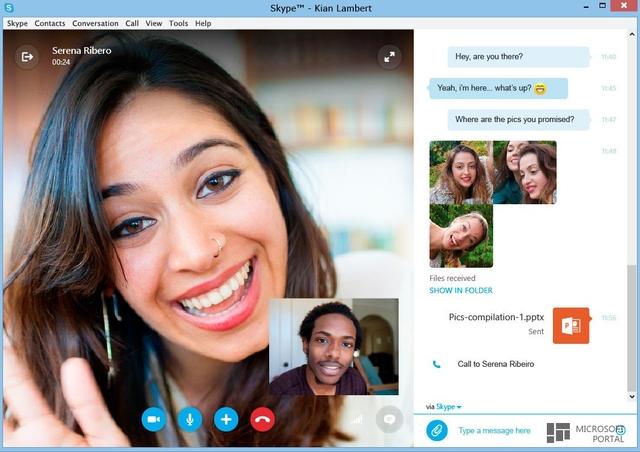 Skype Dirilis dengan Tampilan Baru yang Lebih Modern