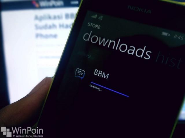 Ada Update BBM Beta untuk Windows Phone, Lebih Cepat Dari Sebelumnya