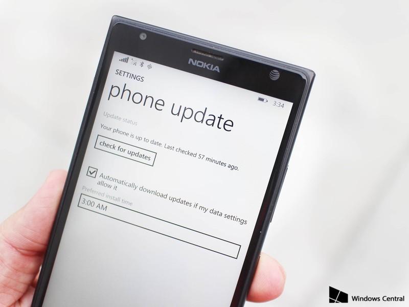 Update Windows Phone 8.1.1 Build 14203 Juga Membawa Fitur Update Scheduler