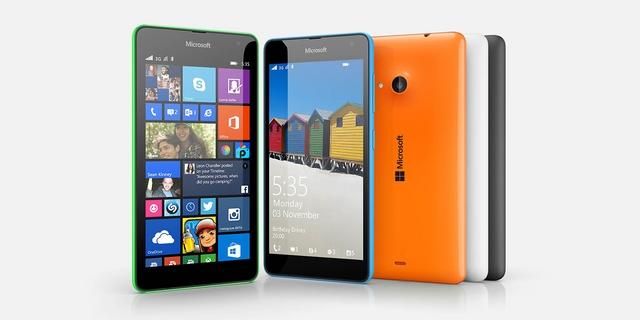 Microsoft Perkenalkan Windows Phone Baru, Microsoft Lumia 535