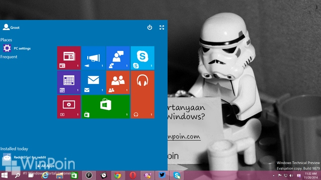Secret: Inilah Cara Memunculkan Start Menu Continuum di Windows 10