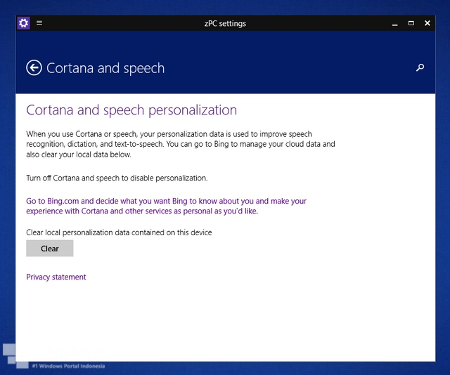 Wow..Cortana Sudah Mulai Terlihat di Windows 10 Preview!