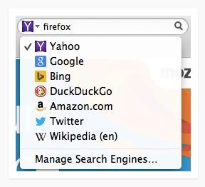 Search Engine Default Firefox Kini Bukan Lagi Google, Tetapi Yahoo!