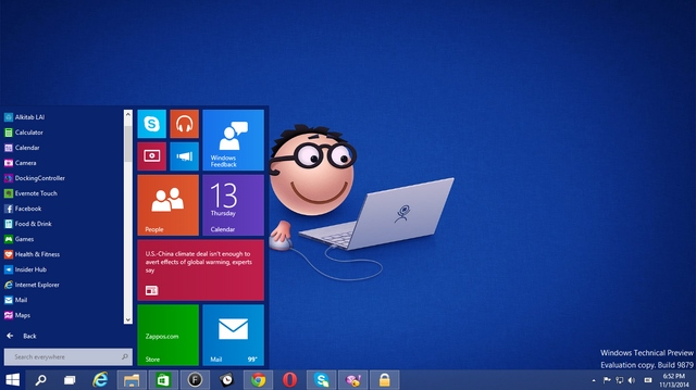 Inilah Link Download Windows 10 Technical Preview ISO / ESD