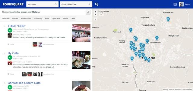 Aplikasi Foursquare Beta Punya Desain Baru, Sayang Belum Resmi Dirilis