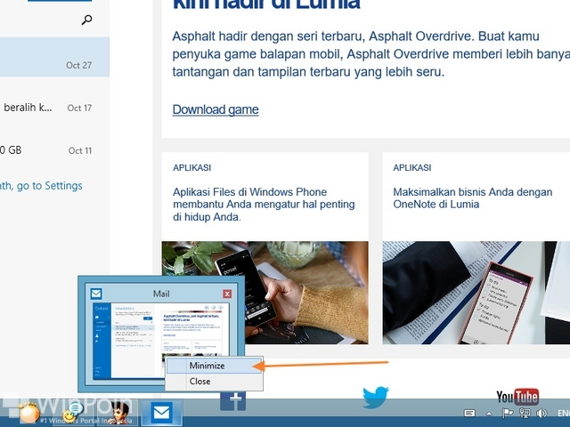 Cara Menampilkan Aplikasi Modern Windows 10 Full Screen