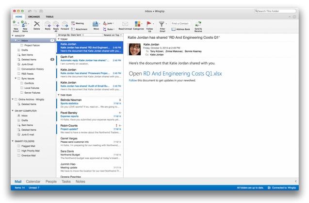Outlook untuk Mac versi Terbaru Sudah Dirilis!